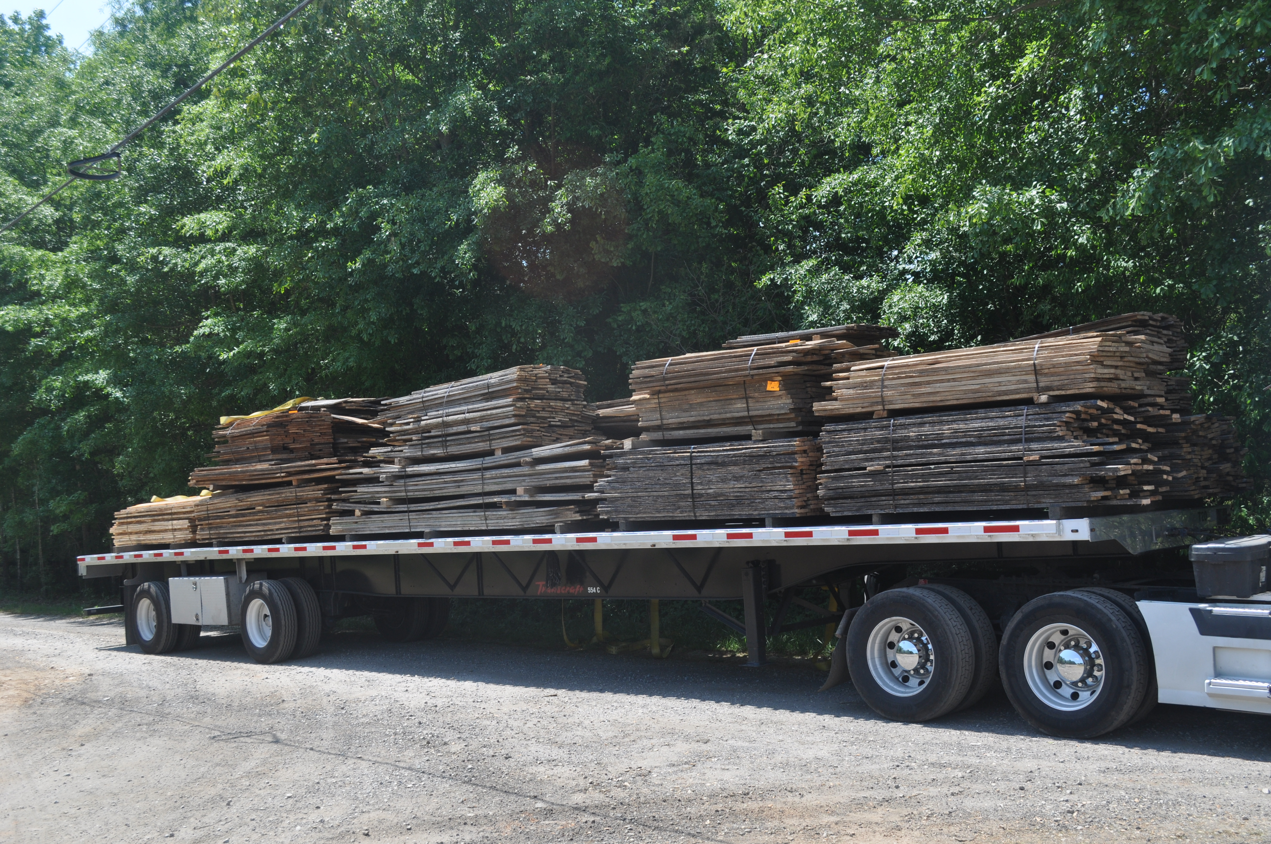 barn wood delivered to Georgia Reclaimed