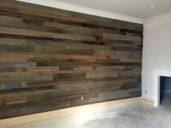 Replace Outlet And Switch Covers Sweep Up Hang Your Pictures Enjoy New Accent Wall With Barnwood Paneling From Georgia Reclaimed